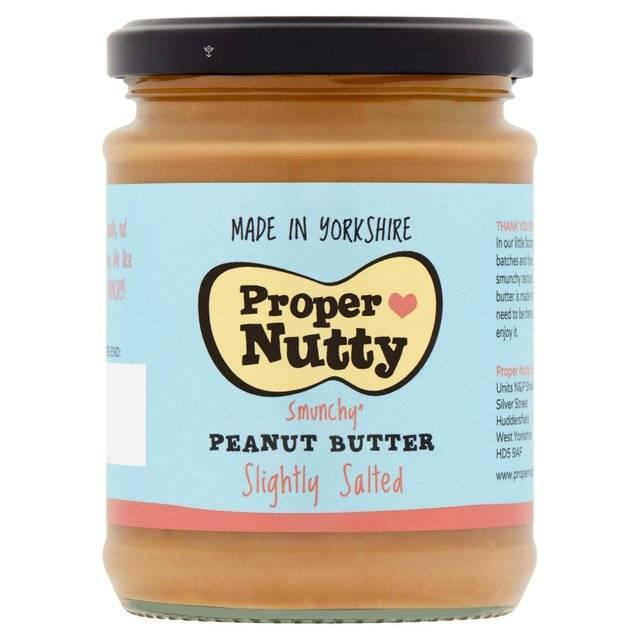 Proper Nutty Slightly Salted Peanut Butter