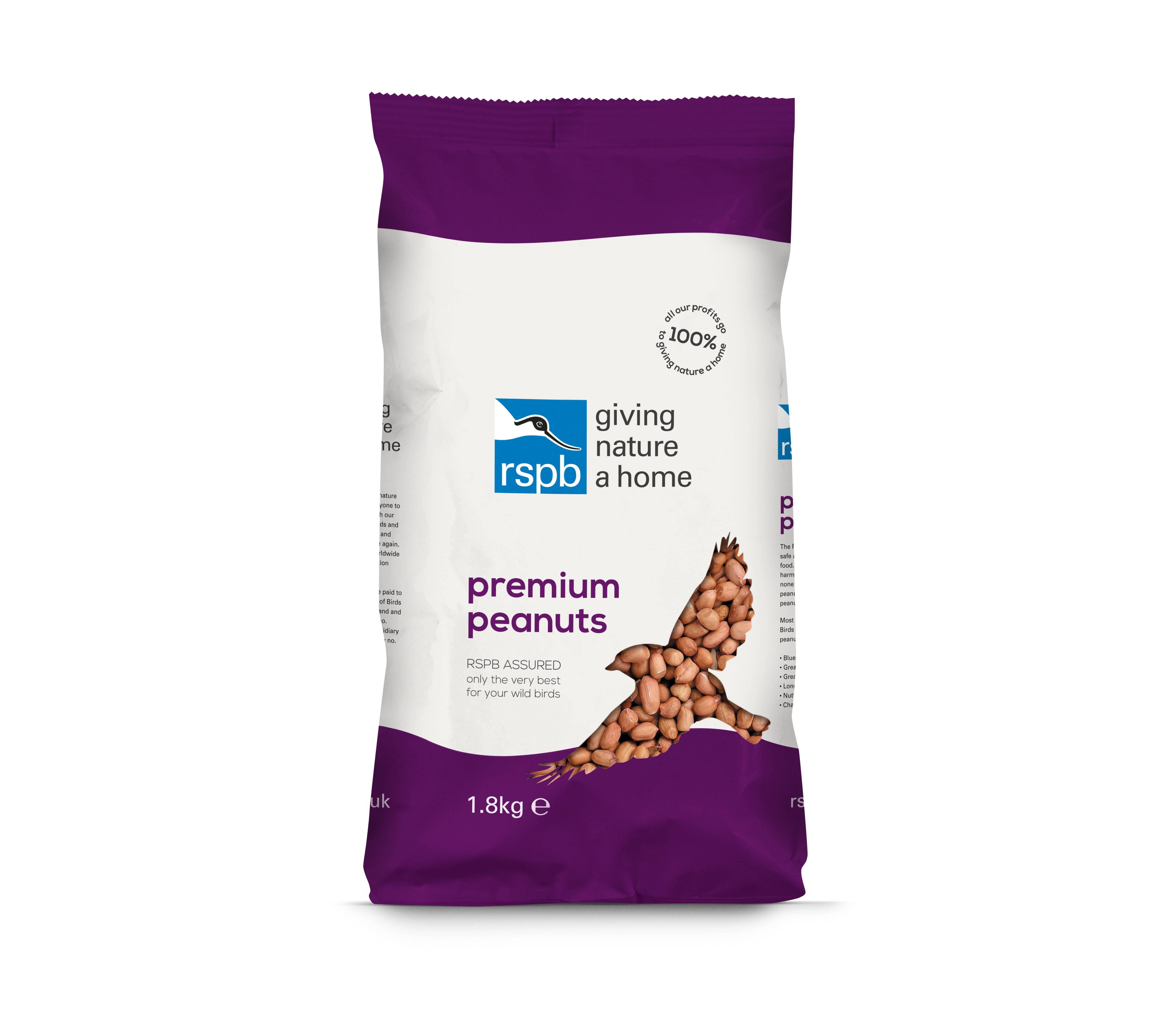 RSPB Premium Peanuts 1.8Kg